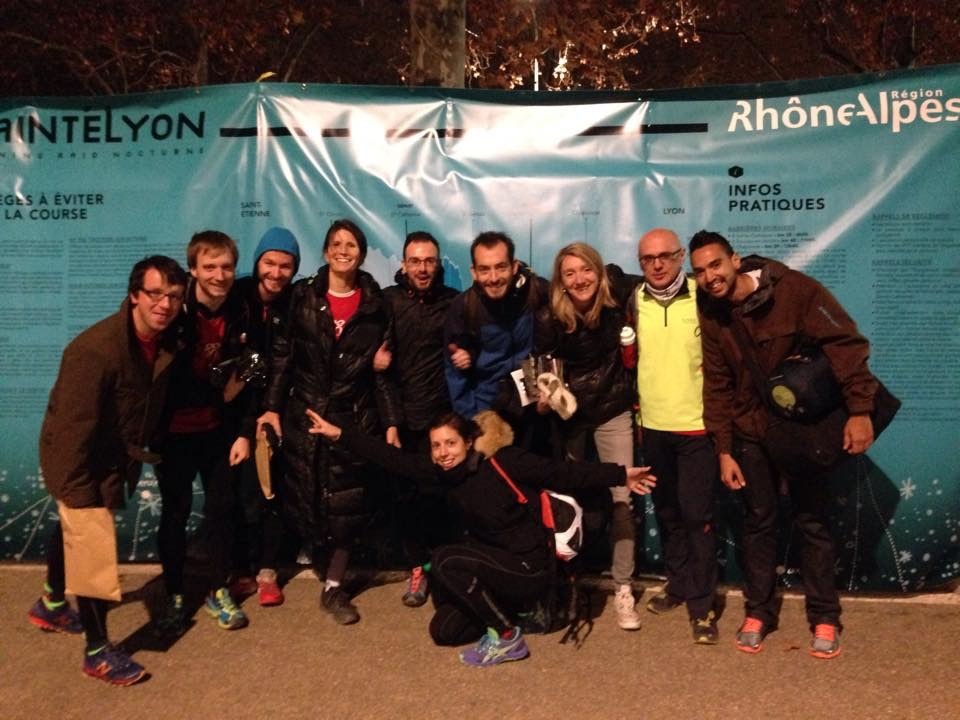 Saintelyon 2014 ou mon 1er trail by night