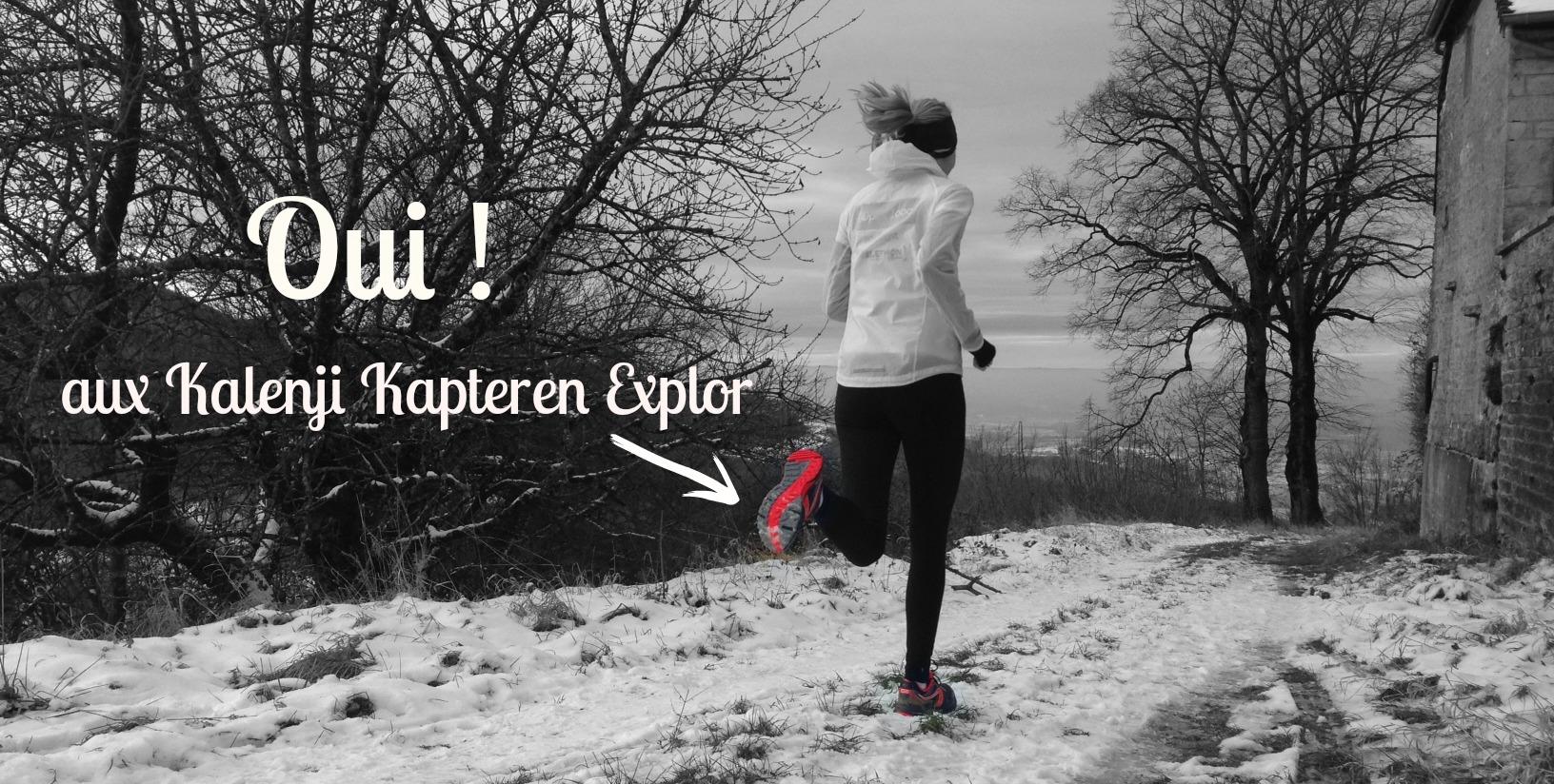 J'ai testé : chaussures de trail KAPTEREN EXPLOR Kalenji