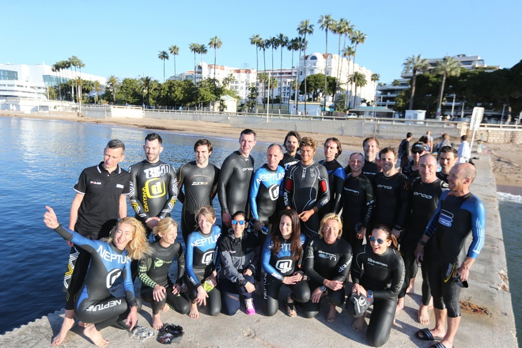 Team Polar Cannes International Triathlon