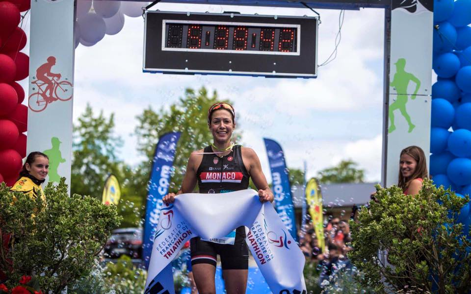 Interview de Charlotte Morel, Championne de France de Triathlon 2016